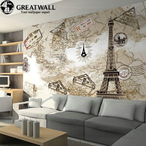 25 melhores ideias de mapa mundi grande no pinterest - Mural mapa mundi ...