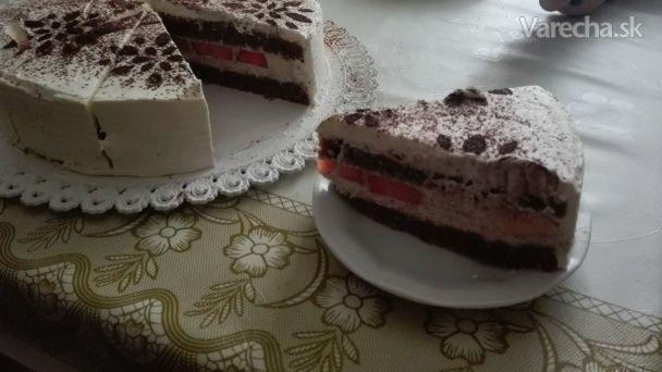 Lieskovo-oriešková torta s mascarpone - Recept