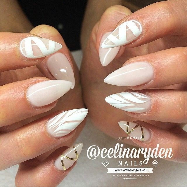 Białe szpony. Neutral Nail DesignsNeutral NailsNeutral ColorsSexy ... - The 25+ Best Neutral Nail Designs Ideas On Pinterest Neutral Gel