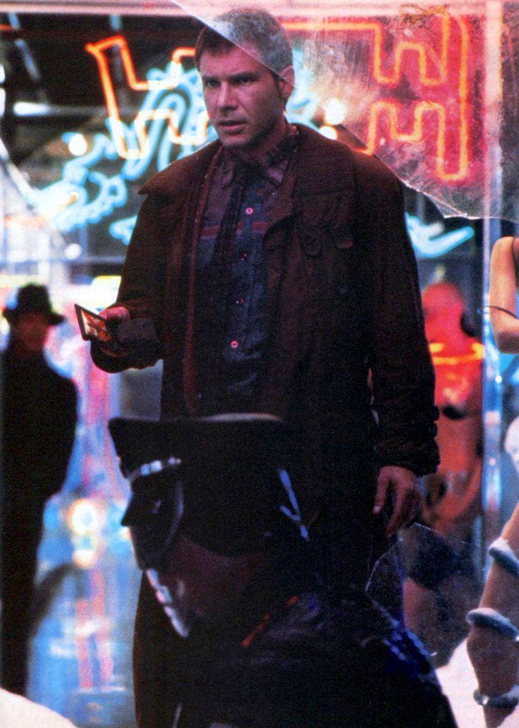 "gameraboy: ""Harrison Ford as Rick Deckard in Blade Runner (1982) """