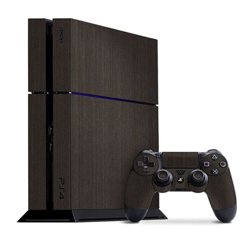 Unique and stylish Brushed Onyx Metal Slickwrap available for the PS4 and many other devices today at www.slickwraps.com