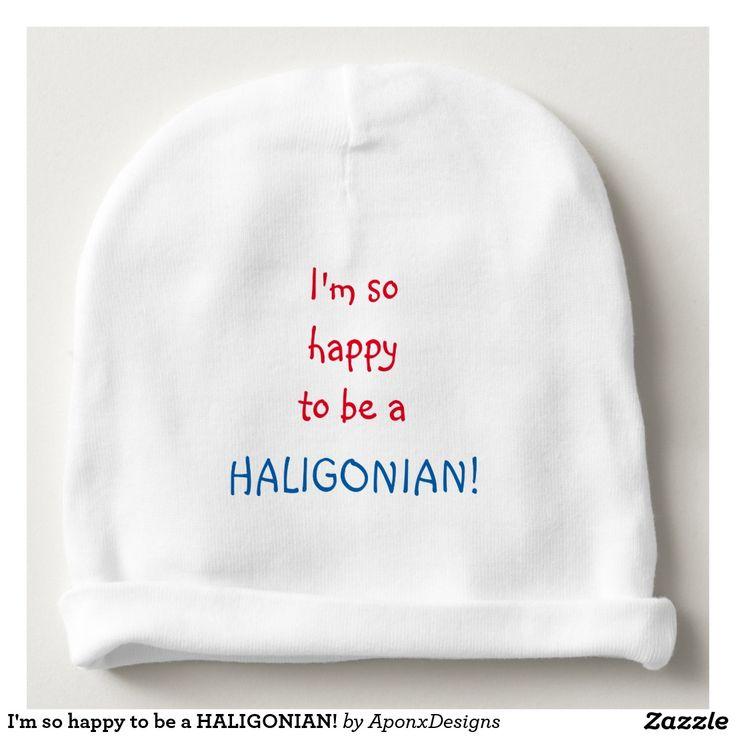 I'm so happy to be a HALIGONIAN!