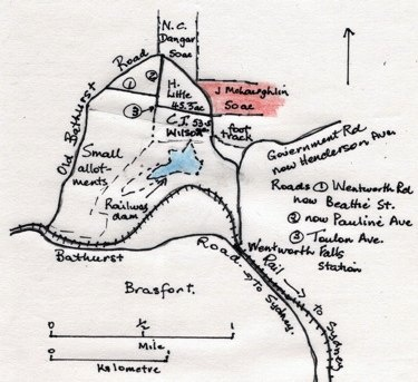 """""""No study is complete without a map - I looked at this one and knew immediately who had drawn it without reading to the bottom of the page. She always followed the map rules - actually she probably made most of them."""" ... and only a geography teacher would have written that!"""