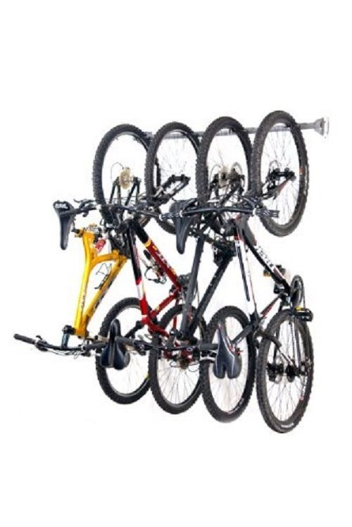 Bike Hooks For Garage Wall Hanger Storage Holds 6 Bikes #MonkeyBars