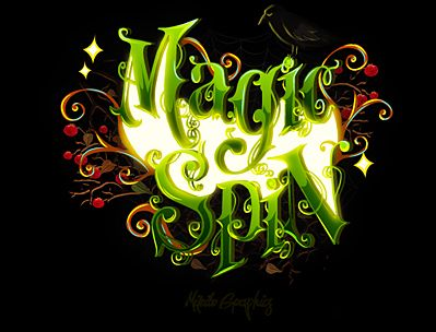 Magic Spin (Slot game for Adjarabet) by MIKIBO, via Behance