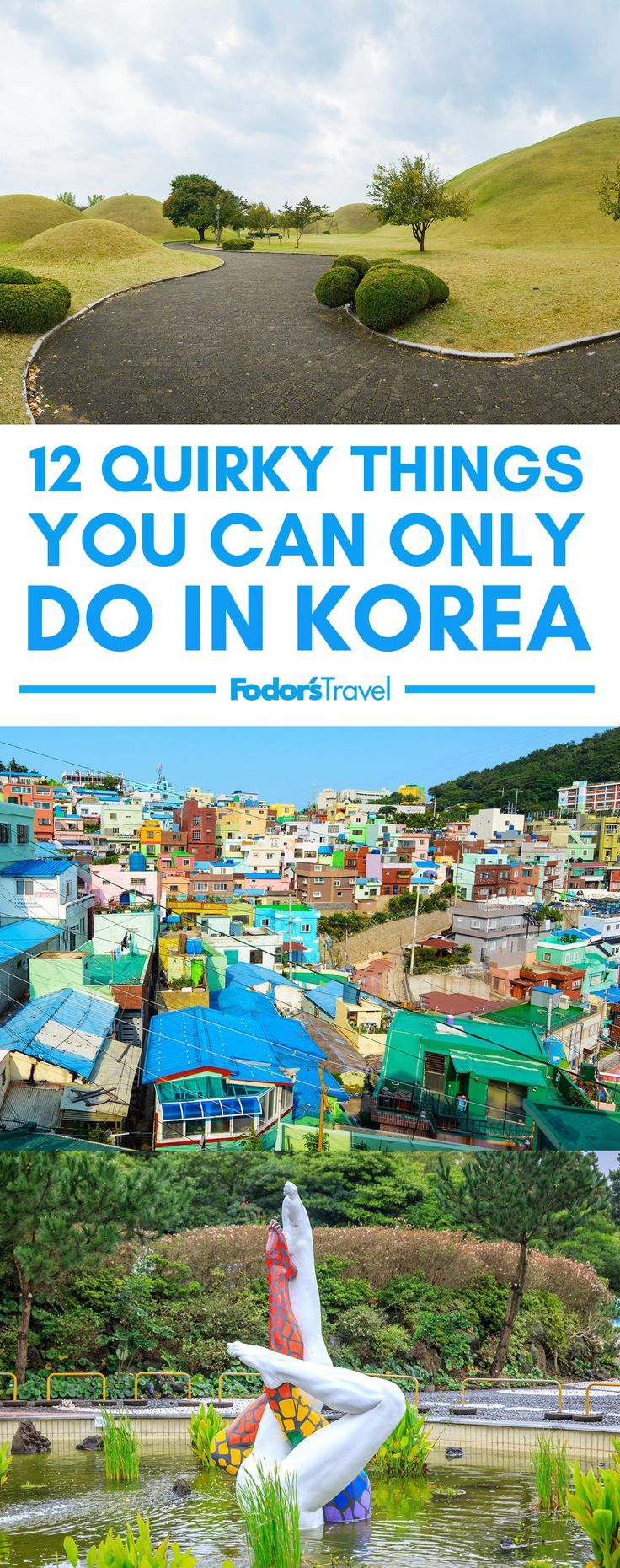 While South Korea may be best known for K-Pop, kimchi, and Taekwondo, this East Asian country of over 51 million people still remains relatively off-the-beaten tourist track. #SouthKorea #Asia #travel #adventure #weird #travelinspiration #wanderlust