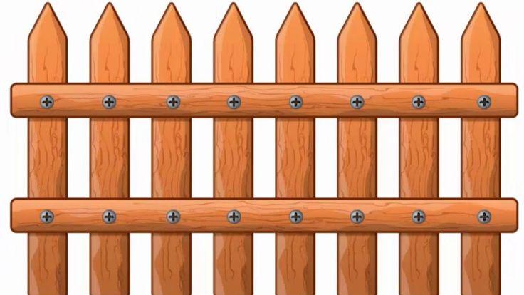 Wooden fence - Adobe Illustrator tutorial. How to create wood imitation ...