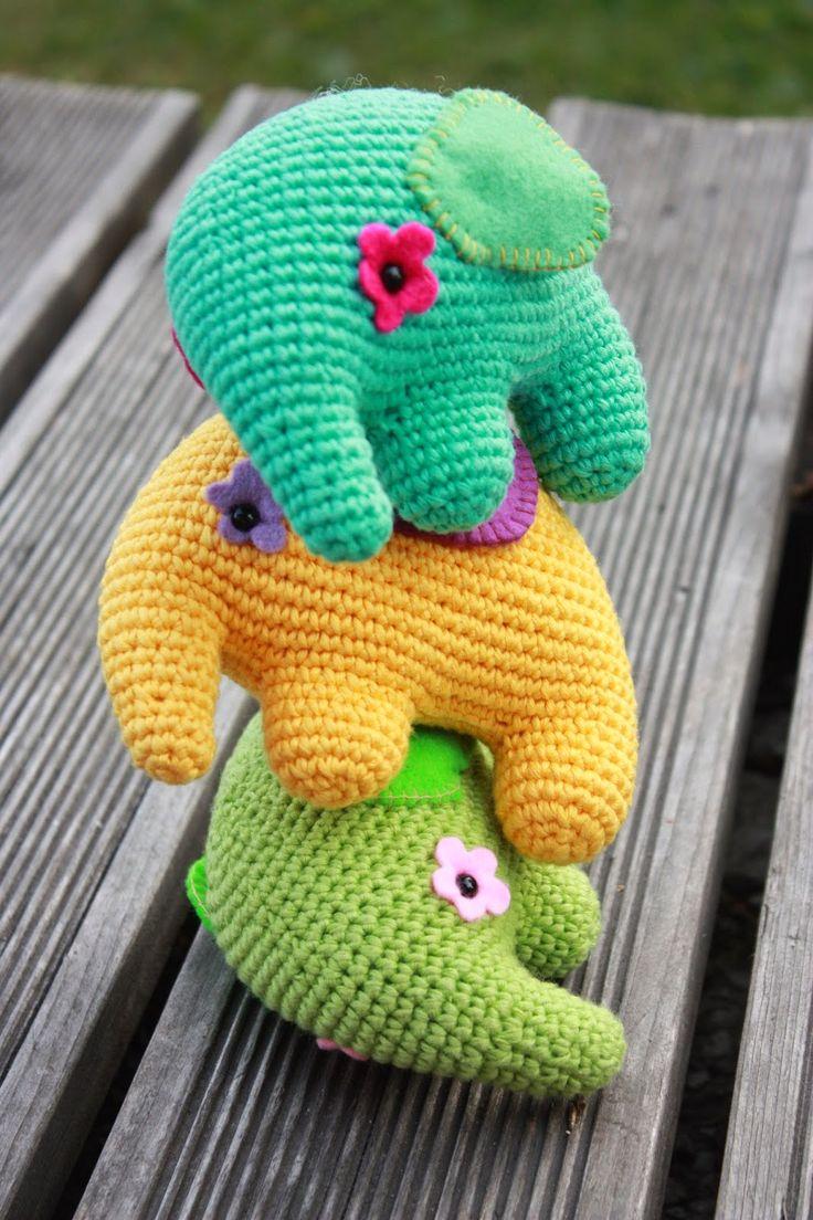 194 best amigurumi elephants and giraffes images on pinterest amigurumi creations by laura crochet elephant patternamigurumi bankloansurffo Images
