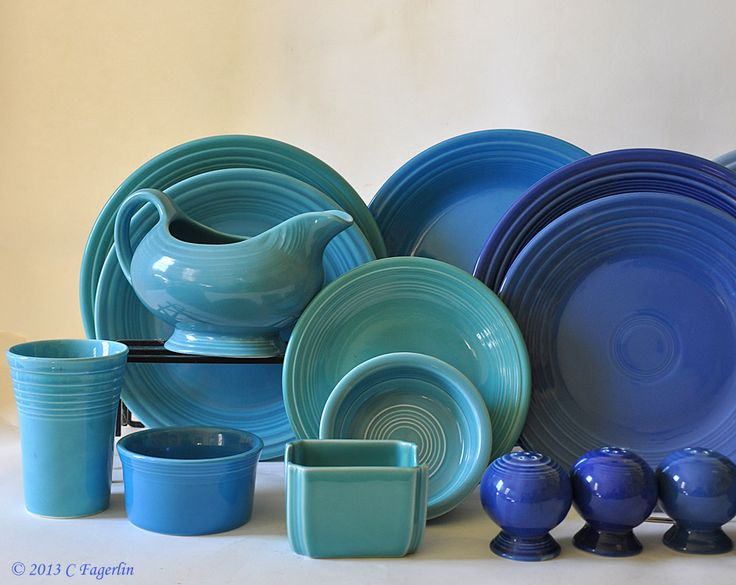 Those Blues - I know my colors do you? No labels for now . & 79 best Fiesta® / Homer Laughlin China: Shades of Blue images on ...