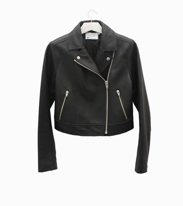 Leather biker jacket by Alexander Wang #arropame #conceptstore #bilbao #ss2016 #AlexanderWang #fashion #shoponline #shopping #trendy #style http://arropame.com/coleccion-completa-alexander-wang-ss16/