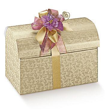 Cufar ambalare cadouri, Cufar Lari Champagne - Magazinul de Ambalaje