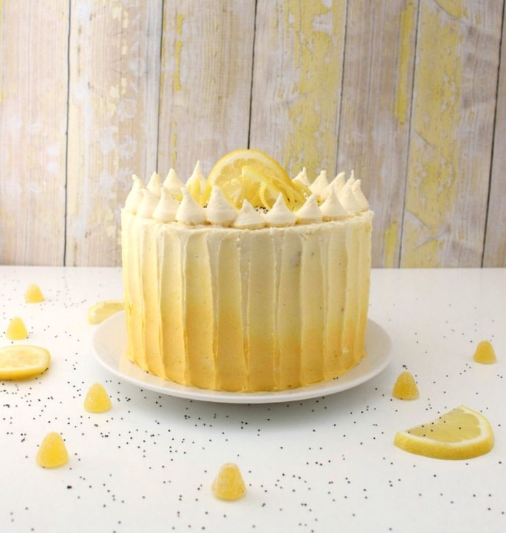 This lemon poppy seed cake is perfect for spring and summer, or any other time you need a bright cake pick-me-up!