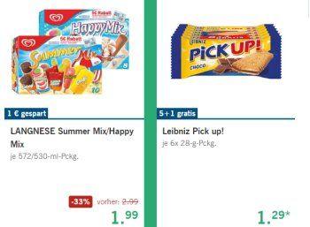 """Lidl: Langnese """"Happy Mix"""" und """"Summer Mix"""" ab Donnerstag reduziert https://www.discountfan.de/artikel/essen_und_trinken/lidl-langnese-happy-mix-und-summer-mix-ab-donnerstag-reduziert.php Auf die erste Hitzewelle des Jahres reagiert der Discounter Lidl mit eisigen Schnäppchen: Ab dem 14. Juli 2016 sind der """"Happy Mix"""" und der """"Summer Mix"""" von Lagnese mit einem Euro Rabatt für 1,99 statt 2,99 Euro zu haben. Lidl: Langnese """"Happy Mix"""" und"""