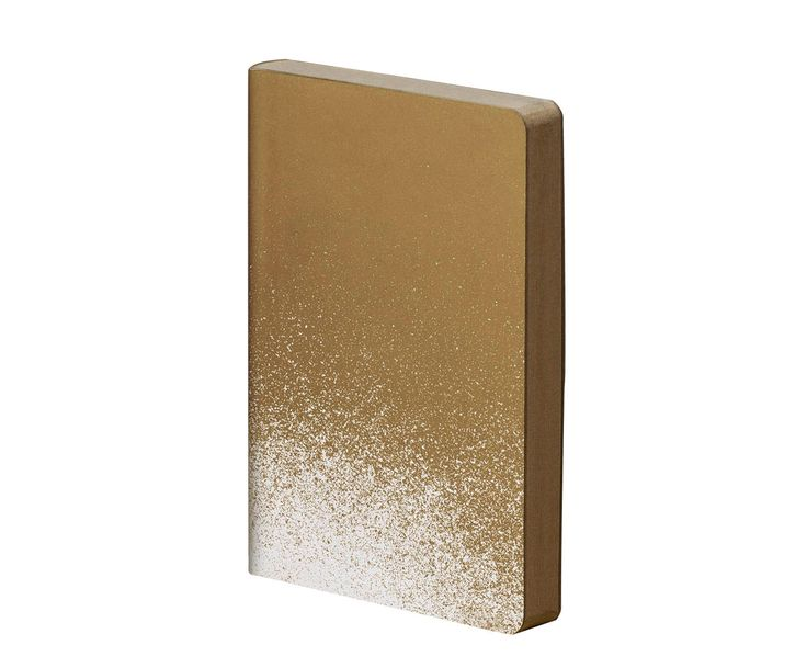 """Notes """"Golden Rain"""", 11 x 15 cm 