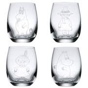 Arabia moomin glasses... reallyyyyyy need these.
