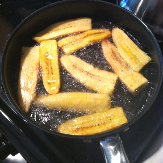 Colombian Food: Fried Plantain