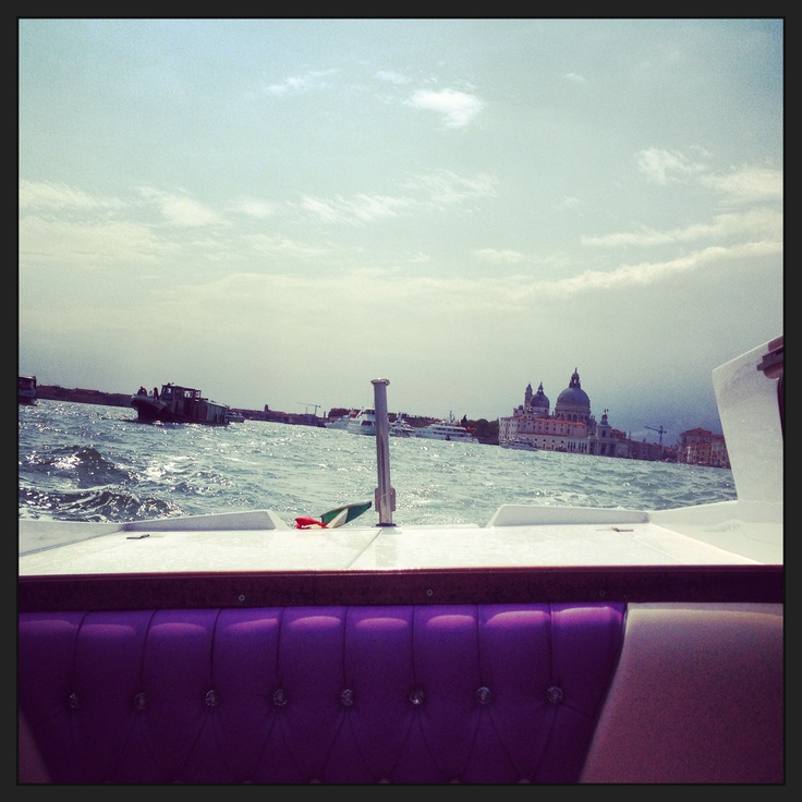 View of Dogana from our boat
