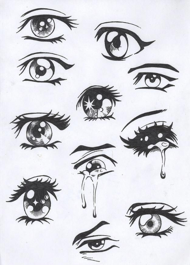 100 Tutorials To Teach You How To Draw In 2020 Anime Eyes Cartoon Drawings Anime Drawings