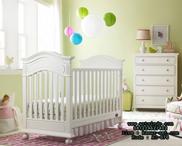 Naples traditional crib snow white and luxury baby cribs in baby furniture