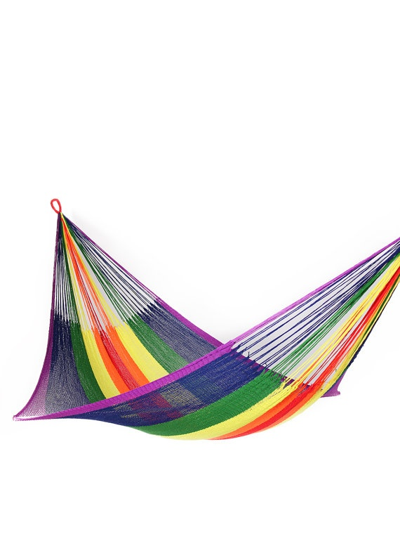 rainbow hammock family size by yellowleafhammocks 78 best hammock life  u003c3 images on pinterest   hammocks decks and      rh   pinterest