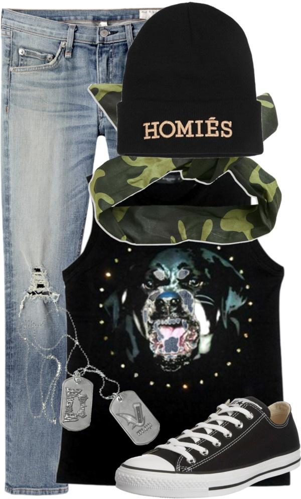 """""""tomboy skater girl fresh rebel skateboard skateboarder Tom hawks beanie"""" by zillpatel on Polyvore"""