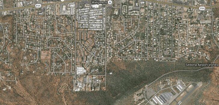 Седона, Явапай, Аризона, Соединённые Штаты Америки - Города и деревни мира