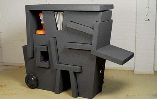 """kruikantoor"", a modular mobile office furniture"