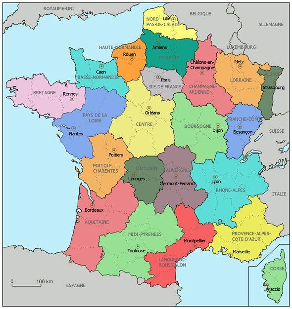 Regiões da França - Viajar na França