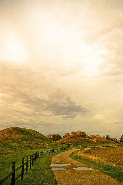 Uppsala, Sweden, viking mounds. Beautiful #Scandinavia :) #travel & explore!