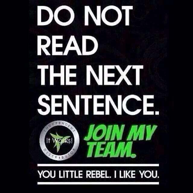 Join me and my It Works team by July 31st and you will be eligible to earn our $10,000 GOOD Bonus! 3 steps in 3 months, that's it. There's two girls on my team who have done it in less than a month!  Check us out at http://www.wrapsondemand.com