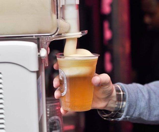 Beer Head Slushie Machine | DudeIWantThat.com