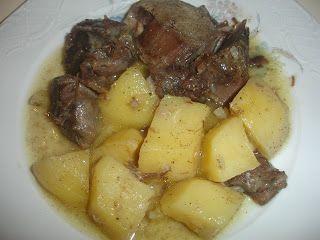 Οι Συνταγές της Λόπης: ΓΙΔΑ ΛΕΜΟΝΑΤΗ - Lemony goat