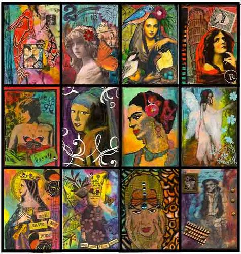 Mixed Media Art. amazing.Mixedmediaart, Journaling Mixed Media, Art Journals, Journals Ideas, Mixed Media Art, Medium, Tarot Decks, Journals Art, Style Ideas