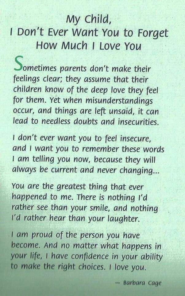 s letter to son Parlobuenacocinaco