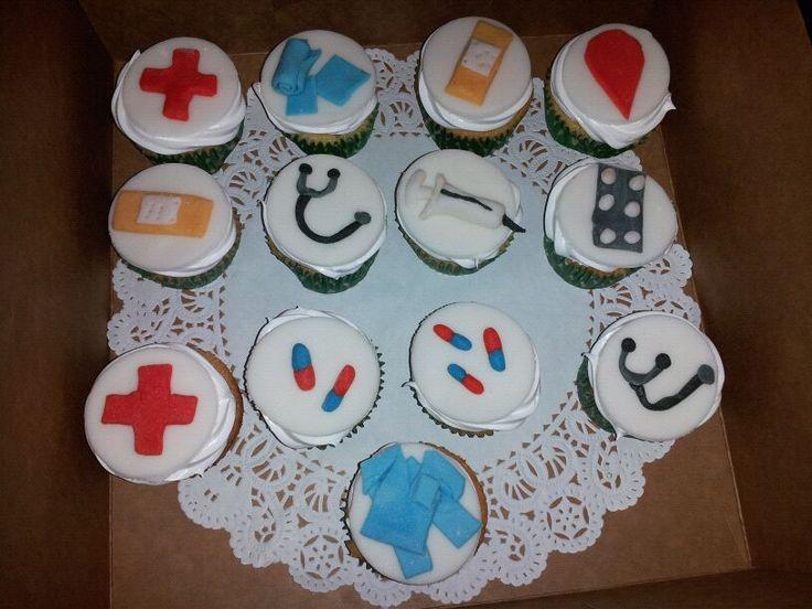 Cupckaes - Tema Medico
