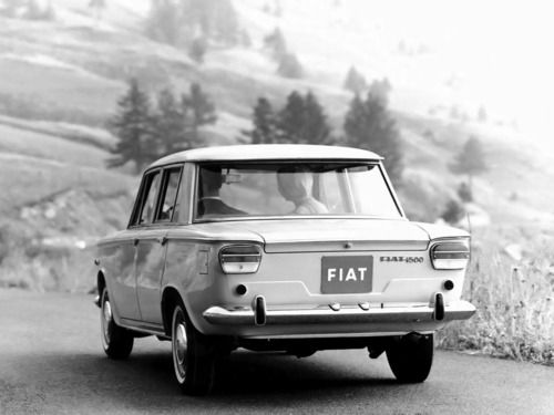 fiat; my dad bought one of these as soon as we arrived in Sicily, and I learned to drive 'three-on-the-tree' in that car.