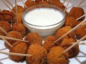 Recetas Monsieur Cuisine: Chupa- chups de pollo con salsa de yogur