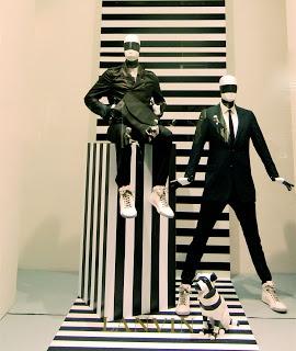 NYC: Stripes at Lanvin