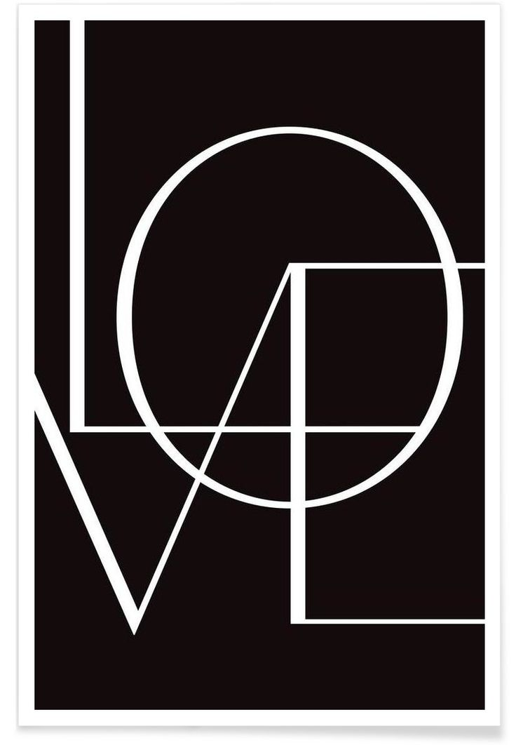 Love VON Letters on Love now on JUNIQE!