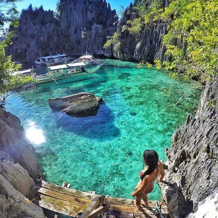 Twin Lagoon, Philippines                                                                                                                                                                                 More