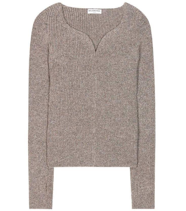 BUYMA.com SPUR 10月号 掲載◆バレンシアガ 16AW◆ハートネック セーター(23213709)