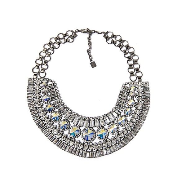 DANNIJO Bea collar necklace ($945) found on Polyvore