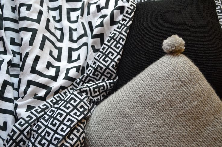 sleep well #pillow #bedroom #handknitted