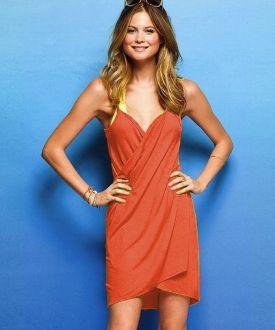 Vestido / Pareo de playa - Naranja Antes: 25,00 €16,50 €