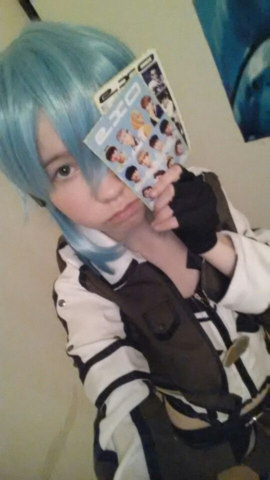 ~My Sinon cosplay >w<~ ~EXOOO~
