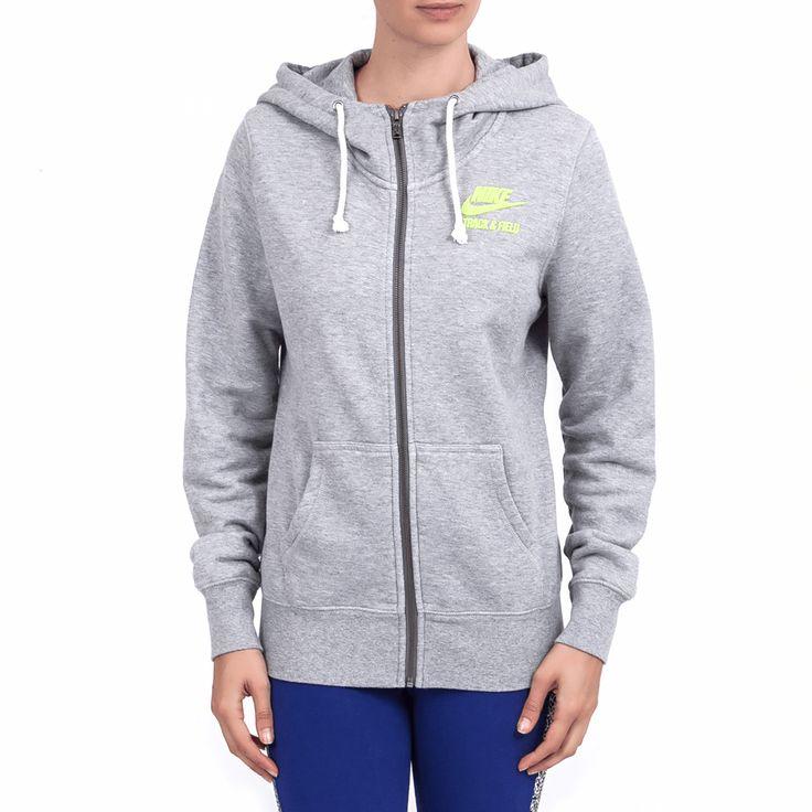 NIKE - Γυναικεία ζακέτα Nike γκρι #style #fashion #moda