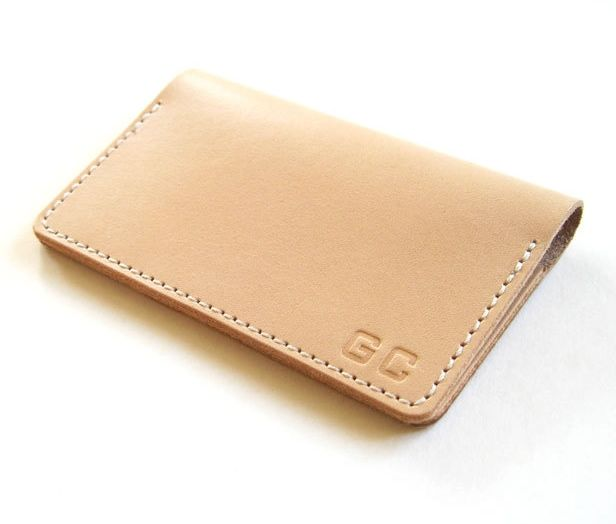 Personalized Folding Leather Business Card Holder Gifts for Men, Gifts for Him…