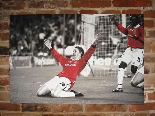 Ole Gunnar Solskjaer Manchester United Canvas Print