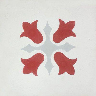 Cimenterie de la Tour, Zementfliese_Dekor: BAUDUC M210, 20x20 / 1,7 cm
