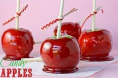 Foolproof Candy Apples - The coating on these is perfect — not too thick or hard to bite into, with just the right amount of cinnamon.